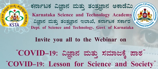 Covid19- Lesson for Science and Society Image